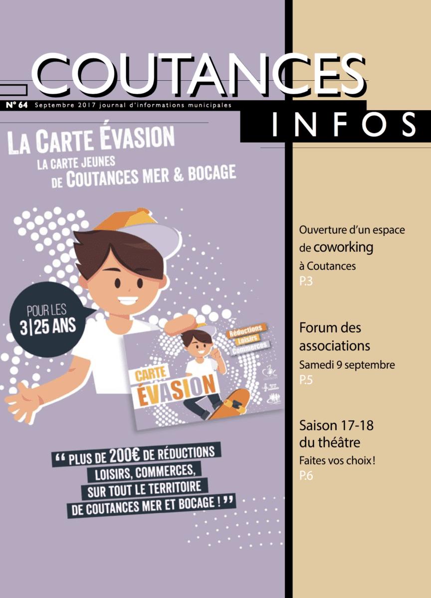Coutances infos 64 - sept 2017